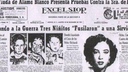 El diario Excélsior informó en México del caso (Captura Excélsior)