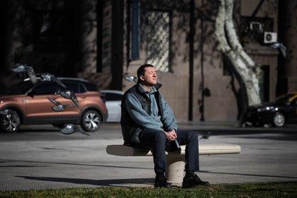 El futuro ya tiene sus preocupaciones. El 50,8% de los argentinos ya está pensando en el día después de la cuarentena (Franco Fafasuli)