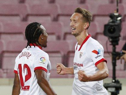 Luuk de Jong marcó el 1 a 0 (Reuters)
