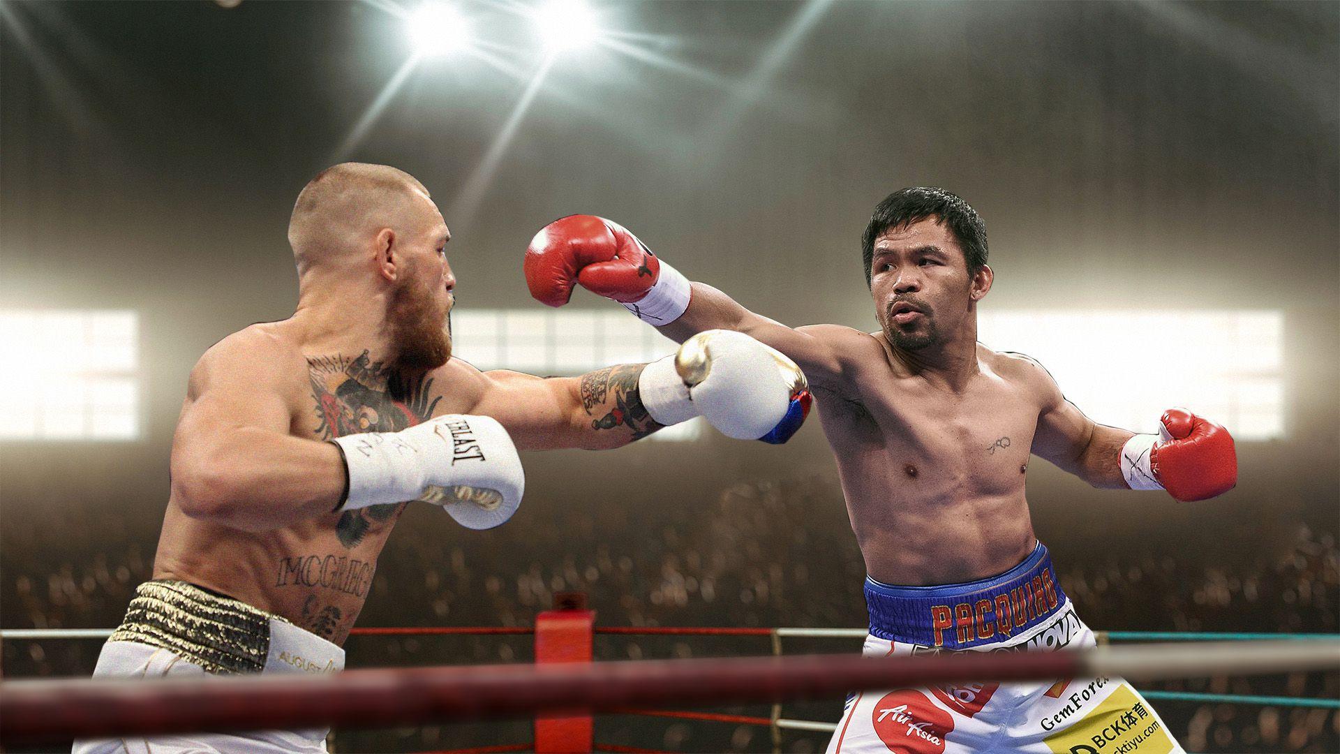 Manny Pacquiao y Conor McGregor