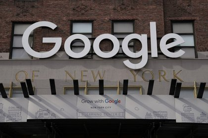 El edificio de Google en Manhattan (REUTERS/Carlo Allegri)