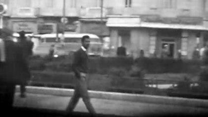 La supuesta imagen de Eli Cohen caminando por Damasco como Kabal Amin Taabes, su nombre en clave dado por el Mossad para infiltrarse en lo más alto del poder de Siria (RT)