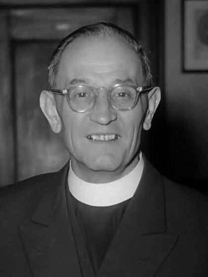 El pastor luterano alemán Martin Niemöller