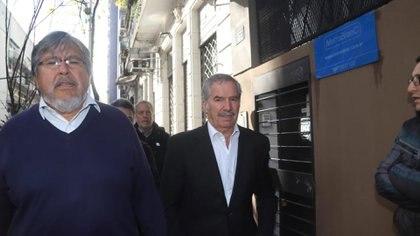 Felipe Solá y el Fernando Navarro (Matías Baglietto)