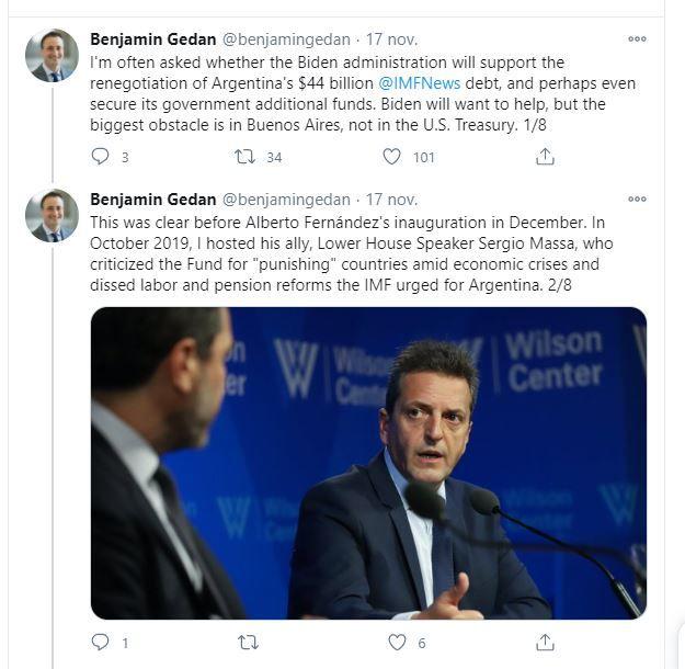 FMI Argentina Benjamin Gedan Wilson Center