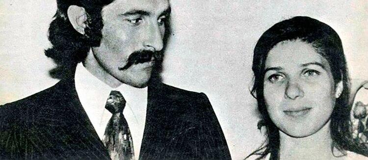 Cecilia Giubileo y su marido Pablo Chabrol