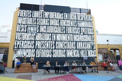 El anuncio lo hizo el colectivo Actrices Argentinas por medio de una conferencia de prensa, en la que presentaron al nuevo abogado de la causa y el apoyo de Amnistía Internacional