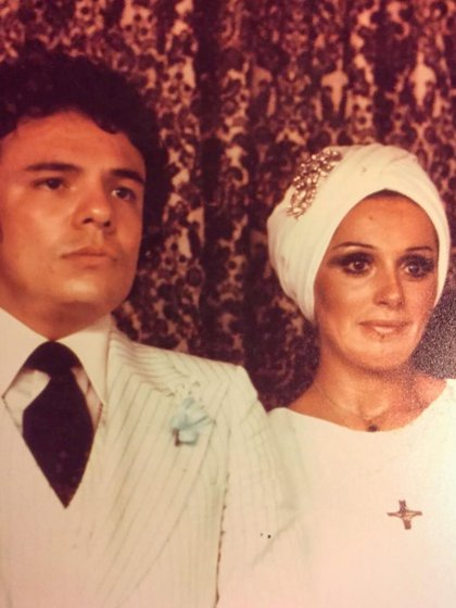Anel y José José tuvieron dos hijos (IG: anel_norenamx)