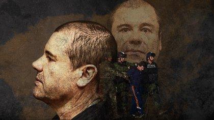 Guzmán Loera es uno de los presos más vigilados en EEUU (Fotoarte: Jovani Silva/Infobae)
