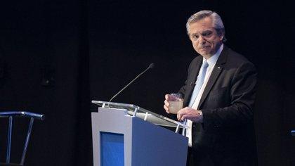 Alberto Fernández, candidato del Frente de Todos (Adrián Escandar)