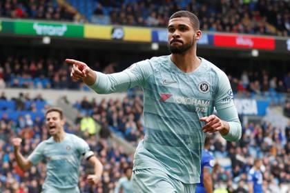 El futbolista del Chelsea que quedó dentro del podio (Reuters/Matthew Childs)