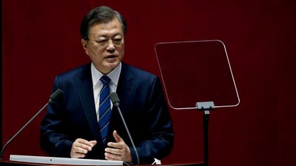 El presidente de Corea del Sur envió sus condolencias a México por el colapso de la Línea 12