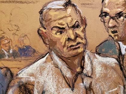 Genaro García Luna está llevando su proceso en prisión (Foto: Reuters / Jane Rosenberg)