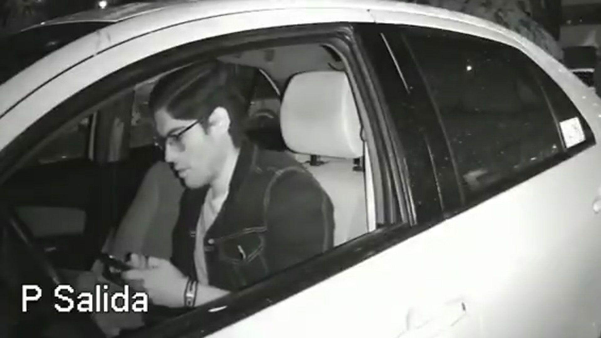 El joven le envió un mensaje a su novia, como cada noche, para avisarle que se dirigía hacia la casa de sus tíos (Foto: captura de pantalla)