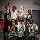 Madonna reunió a todos sus hijos para su cumpleaños anterior (Instagram)