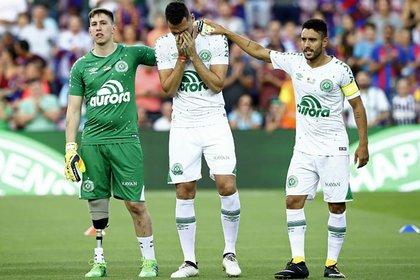 Los futbolistas que sobrevivieron a la tragedia del Chapecoense