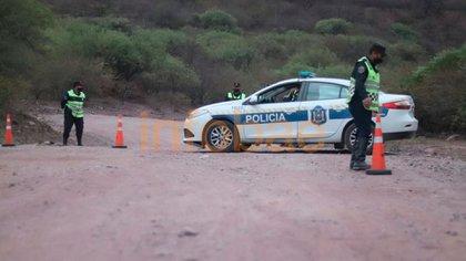 La policía llegó al lugar poco después del accidente, alertada por una testigo (Agustín Ochoa)