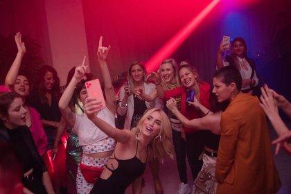 Espósito aprovechó para bailar y divertirse en la fiesta de su cumpleaños (Instagram)