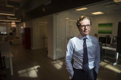 Alexander Nix, el CEO de Cambridge Analytica.(Foto: Joshua Bright/The Washington Post)