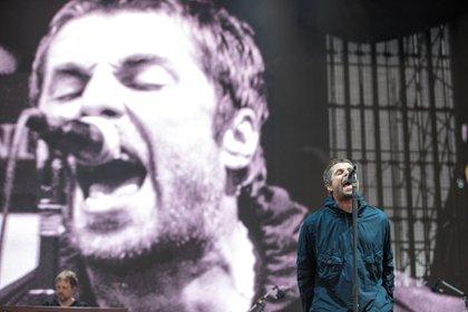 Liam Gallagher en el Lollapalooza