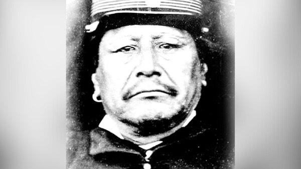 El cacique araucano Juan Calfucurá