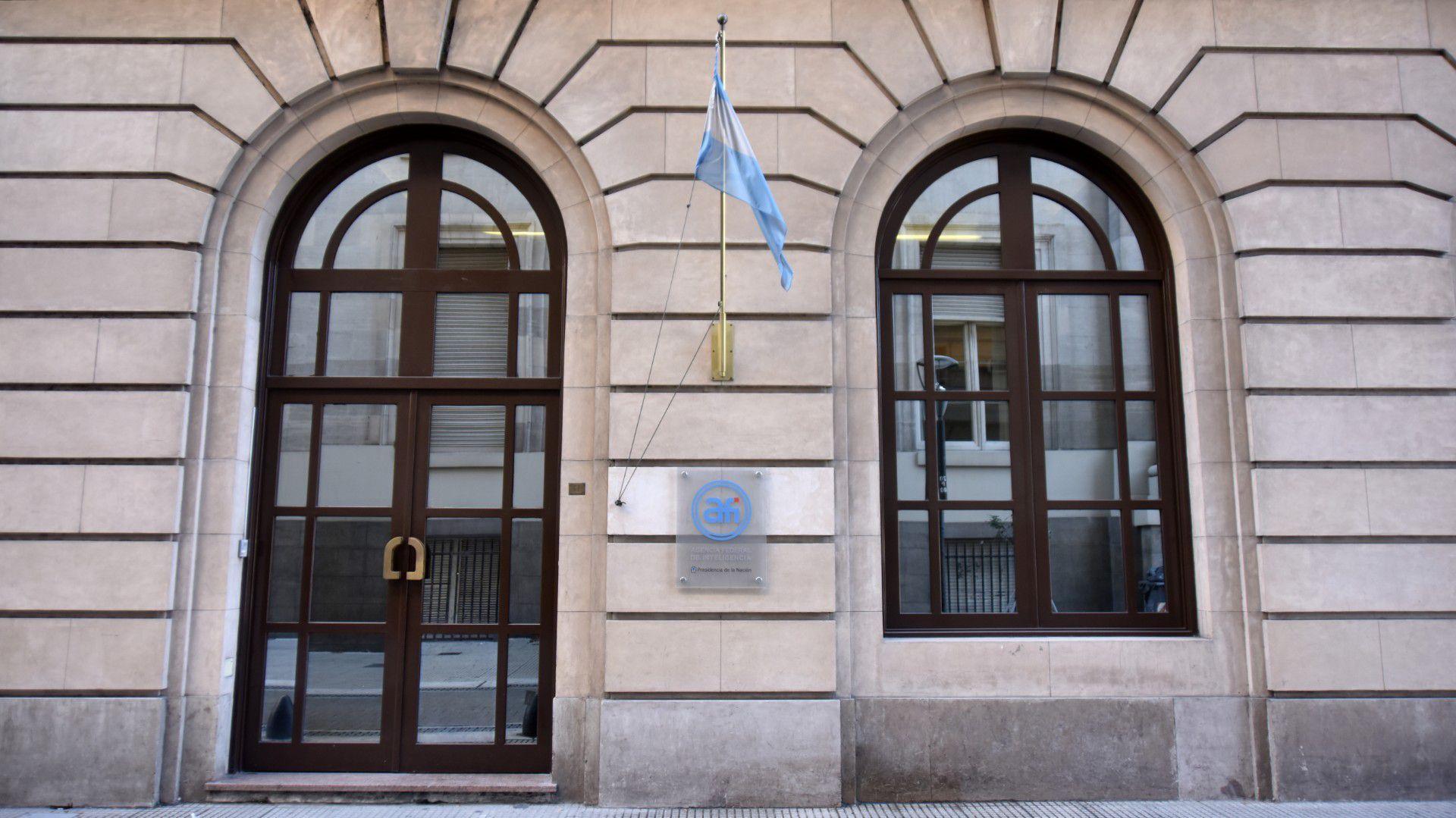 La sede principal de la Agencia Federal de Inteligencia (AFI). Foto: Adrián Escándar.