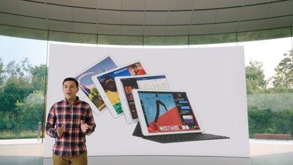 Apple presentó un nuevo iPad de octava generación.