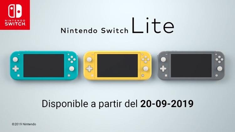 Llegó al mercado el 20 de septiembre en tres colores diferentes.(Foto: Nintendo)