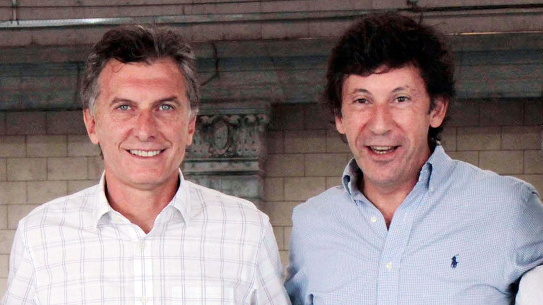 El ex presidente Mauricio Macri junto al intendente de San Isidro, Gustavo Posse