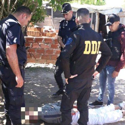 La detención de Ramón Pratto por el crimen del colectivero Geréz.