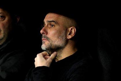 El entrenador del Manchester City, Pep Guardiola . EFE/ Juanjo Martín/Archivo