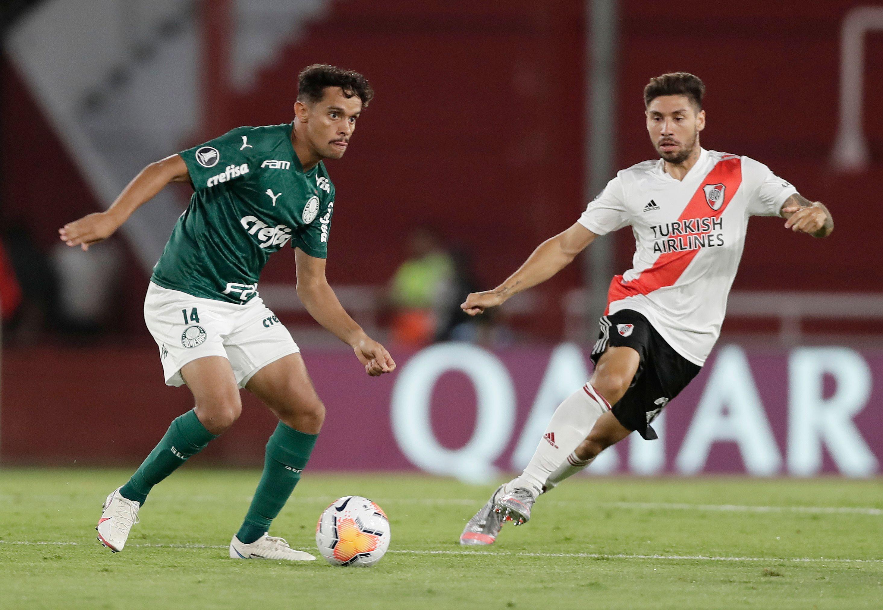 Gonzalo Montiel se iría de River después de su participación en la Copa Libertadores (REUTERS/Juan Ignacio Roncoroni)