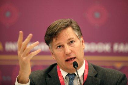 Embajador de Estados Unidos en México, Christopher Landau (Foto:  EFE/ Francisco Guasco)