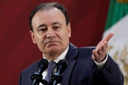 El saliente secretario de Seguridad de México, Alfonso Durazo, ha declarado su amistad con Colosio, ambos originarios de Sonora (Foto: REUTERS/Luis Cortes)