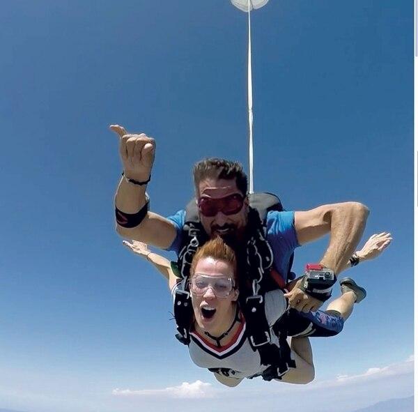 Miriam Lanzoni a pura adrenalina.