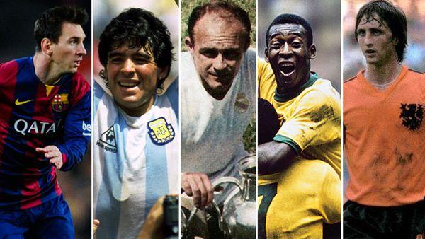 Es definitivo: Los 5 mejores futbolistas de la historia