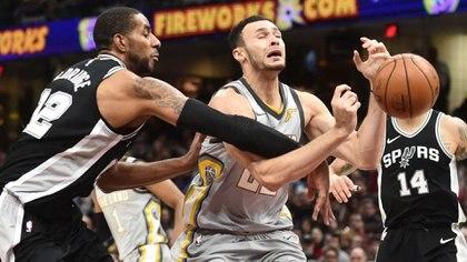 San Antonio Spurs enfrentóa Cleveland Cavaliers (Reuters)