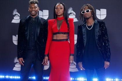 The 20th Annual Latin Grammy Awards – Arrivals – Las Vegas, Nevada, U.S., November 14, 2019 – ChocQuibTown. REUTERS/Danny Moloshok