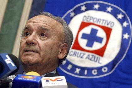 En la imagen, Guillermo Álvarez, director de la Cooperativa Cruz Azul, dueña del equipo de igual nombre. EFE/Marcos Delgado/Archivo