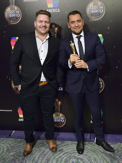 "Cecilio Fleminatti, ganador por su programa ""De caño vale doble"" (Gustavo Gavotti)"