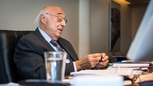 Broda durante una entrevista con Infobae (Foto: Martín Rosenzveig)