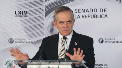 Miguel Ángel Mancera Espinosa llegó a la función pública de la Ciudad de México como Procurador General de Justicia del entonces Distrito Federal  (Foto: Cuartoscuro)