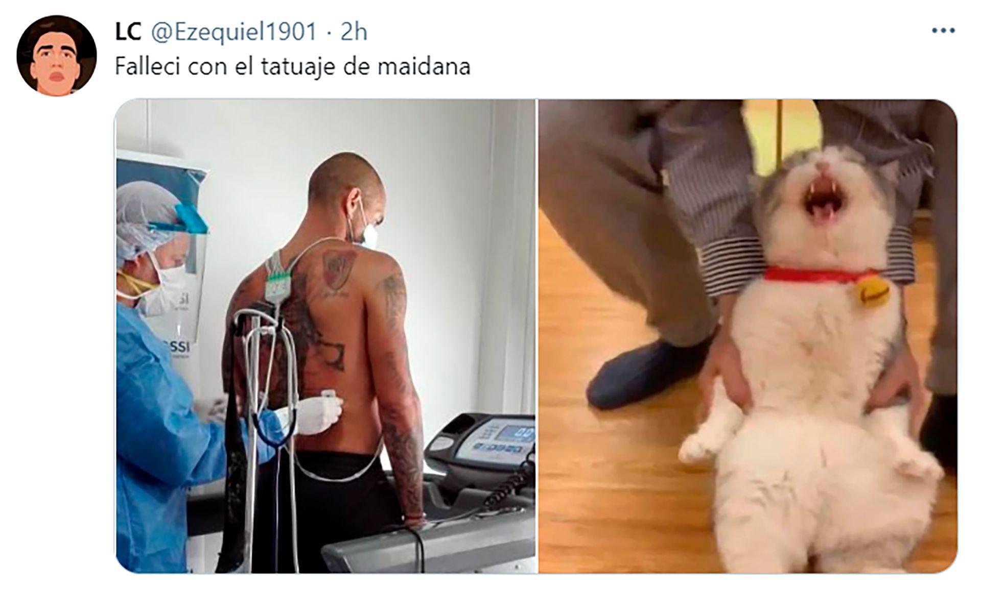 memes tatuajes de Maidana