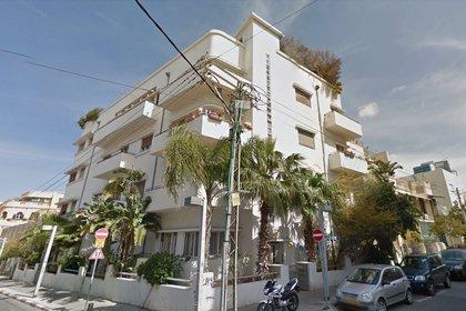 Un edificio Bauhaus sobre la calle Yehuda Halevi de Tel Aviv