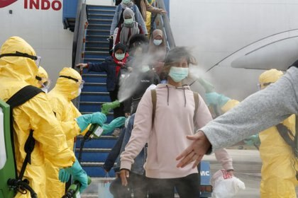 Los virus respiratorios son especialmente difíciles de controlar, así que es muy posible que este nuevo brote termine con que el virus se vuelva endémico. (Antara Foto/via REUTERS)