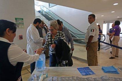 Medidas contra el coronavirus (FOTO: FERNANDO CARRANZA GARCIA / CUARTOSCURO)