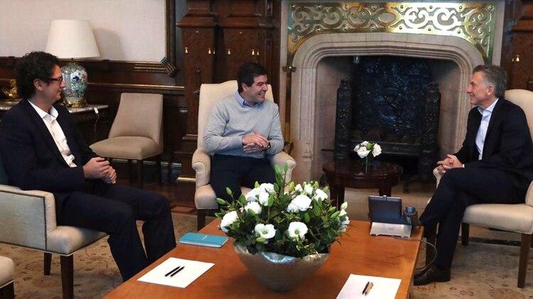 Macri recibió a Ricatti en Casa Rosada, en mayo de este año