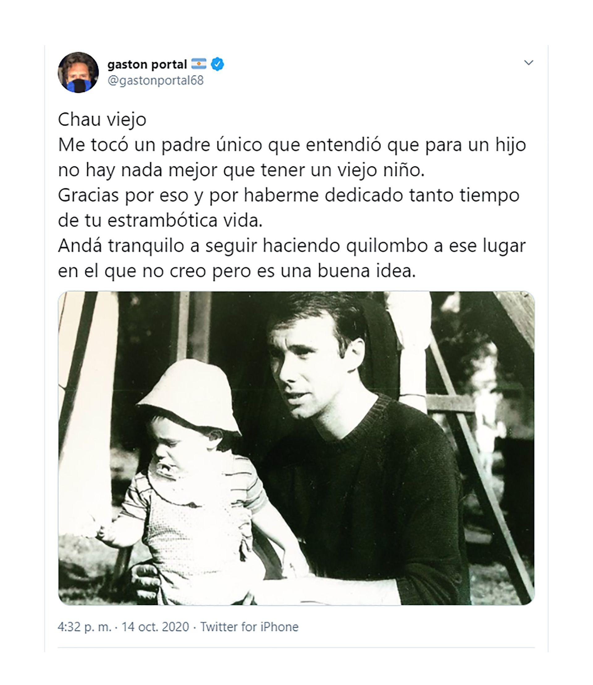 Raúl Portal y Gastón Portal