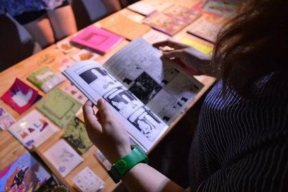 """Comic y publicaciones lgtbiq en el ciclo """"Soy yo"""""""