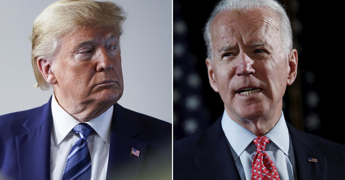 """Joe Biden did not reveal the content of the letter that Donald Trump left him but defined it as """"very generous"""""""